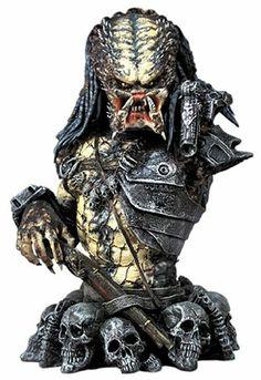 Predator 2 - Elder Predator Bust #Movies #Statue #Predator