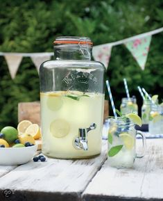 Kilner tap | Housedoctor | great for parties or just for water with cucumber/mint/limes etc