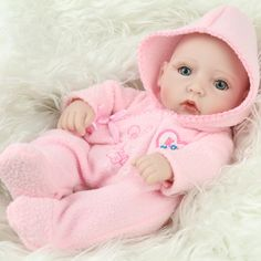 ==> [Free Shipping] Buy Best 28cm Full Vinyl girl Body Silicone Reborn Baby Dolls Jointed Cute Doll with Handmade Sweater Kids Newborn Toys For Mother's Day Online with LOWEST Price | 32795169175
