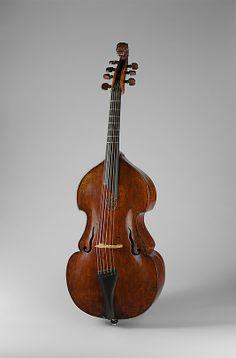 Viola da gamba by Andreas Jais (German, Mittenwald 1685–1753 Tölz). Ca. 1669, Absam, Austria String L. 65 cm