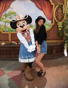Maia Mitchell at Disneyland for #TheFosters wrap party!