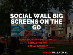 SOCIAL WALL BIG SCREENS ON THE GO #BigScreens, #DigitalMarketing, #Events, #Jumbotron, #LedScreen, #Marathon, #Outdoor, #SocialMarketing, #SocialMedia, #SocialWall - http://socialwall.com.au/social-wall-big-screens-on-the-go/