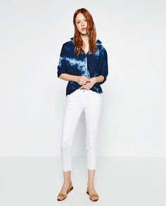 Image 1 of BATIK PRINT SHIRT from Zara