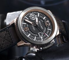 """Ballast Trafalgar BL-3133 Watch - Learn more about this submarine-inspired piece at: aBlogtoWatch.com - """"Ballast timepieces is in the business of creating big, bold timepieces that are inspired by naval history, particularly historic icons like submarines captained by the Royal Navy. aBlogtoWatch previously reviewed the Ballast Valiant BL-3105..."""""""