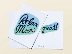 Relax... #mummumcards
