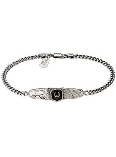 Pyrrha Men's 925 Sterling Silver New Beginnings ID Bracelet Price Β£165 http://www.thesterlingsilver.com/product/vorra-fashion-14k-gold-plated-925-sterling-silver-big-lion-head-red-eyes-mens-ring-animal-love-jewelry-z/