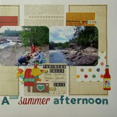 Nicole Doiron July Main kit I Heart Summer collection by Simple Stories 2013