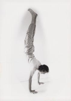 Der Handstand, adho mukha vrkasana