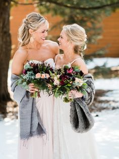 A Pine Peaks Winter Wedding In Crosslake Mn Katie Sean