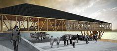 Metro Fluvial Valdivia, 1er lugar concurso de arquitectura en madera corma 2014
