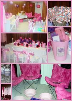 Enchanted Expectations: Spa Birthday Party