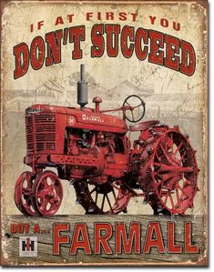 Farmall - For my brother...I must add antque tractors to my Favorites list!