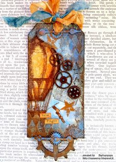 STunning!!!!!! Love this tag by Barbara!! yaya scrap & more