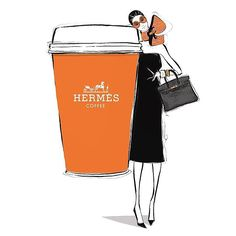 When luxury meets your everyday needs #repost #hermes #coffee #coffeetime #takeawaycoffee #cup #orange #luxury #design #fashion #style #luxe #cool #inspiration #lifestyle by pawpaw_syd