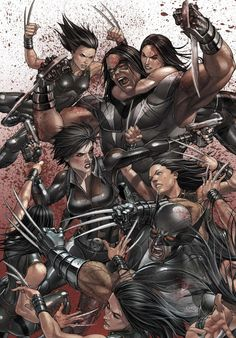 X-Force #20 cover by Mike Choi