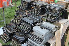 Vintage typewriters!