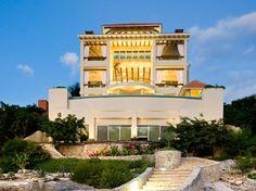 Vista de la luz  from Ocean view at the Isla Mujeres Mexico Vacation Villa Rental