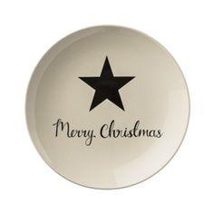 Piatto Christmas Star