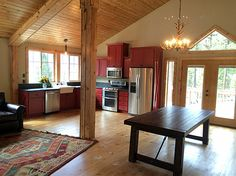 Small Barn Loft Apartments | Found on barnpros.com | Things I Like ...