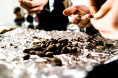 Over toasted chocolate beans from Helsinki's own LEVY chocolate. Photo (c) Risto Kantola Made To Measure Shirts, Beans, Candy, Chocolate, Food, Tailor Made Shirts, Essen, Chocolates, Meals