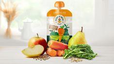 Keep It Real Baby - Fresh Organic Baby Food   Dieline