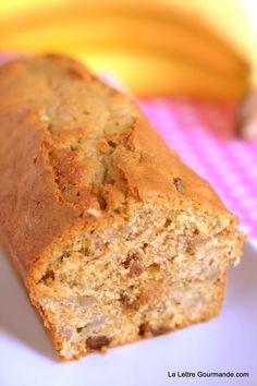 Cake à la banane pour la ronde interblogs n° 17   La Lettre Gourmande