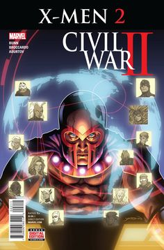 MARVEL COMICS (W) Cullen Bunn (A) Andrea Broccardo (CA) David Yardin • An Inhuman with the power to profile the future has emerged, upsetting the delicate balance of power between the Inhuman and Muta
