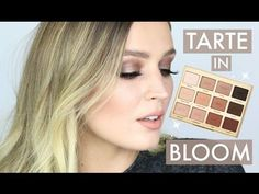 makeup looks with the tarte in bloom palette Make Up Palette, Tarte In Bloom Palette, Tarte Eyeshadow Palette, Eye Palette, Makeup Tarte, Makeup Eyeshadow, Daytime Eyeshadow, Eyeshadow Ideas, Eyeshadow Brushes