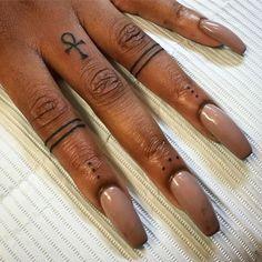 Image result for ankh finger tattoo