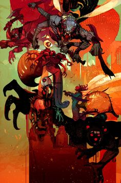 "bear1na: "" Low #3 by Greg Tocchini * """