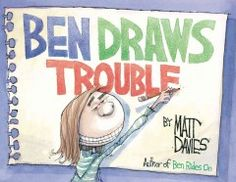 Ben loved drawing more than anything else in the world (with the possible exception of riding his bicycle). He drew boats as well as bicycles, sharks and spaceships. But most of all he loved drawing people. When Ben loses his sketchbook his world is turned upside down. Who will find it? And how will they react?  Find out in this worthy successor to Pulitzer Prize-winning cartoonist Matt Davies's first picture book, Ben Rides On.