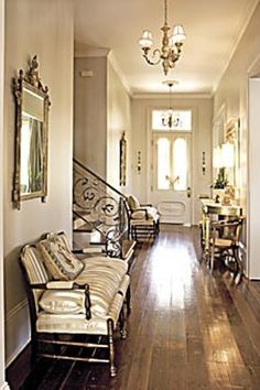 GORGEOUS FOYER -  New home that is designed to appear timeless as the appeal of an old house!