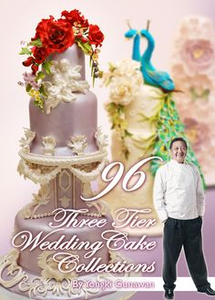 96 Wedding Cake Collection book. Available online on www.yongkigunawan.com Contact: +62 21 53127777