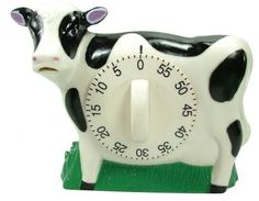 Eddingtons Cow Timer w/ Mooing Noise - Cow Countdown Timer - Cow Kitchen, Country Kitchen, Egg Timer, Kitchen Timers, Thing 1, Countdown Timer, Perfect Timing, Book Nerd, Cooking Timer