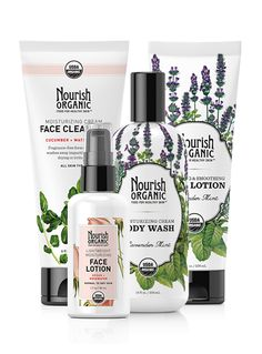 Basic Essentials Face & Body Set. Love these products. We at Balanced Green Products love ORGANIC!