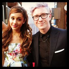 "@Tyler Oakley's photo: ""Loving the new album! Congratulations, @Ariana Bourke Grande! Keep slaying!"""