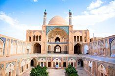 kashan agha bozorg mosque madrasa shutterstock