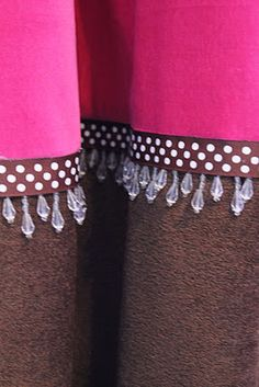 How to lengthen drapes and add trim with minimal to no sewing. Would you believe hot glue?!