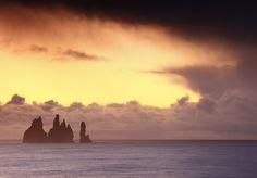 Iceland - Sunrise at Reynisdrangar (Pinnacle) by © Saleh AlRashaid / www.Salehphotography.net, via Flickr