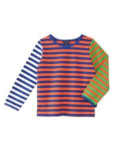 Herra 2-paita (sininen, oranssi, vihreä)  Vaatteet, Lapset, Leikki-ikäiset   Marimekko