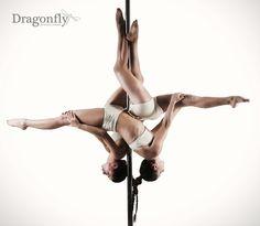 Double Pole: Inside Leg Hang (Scorpio)