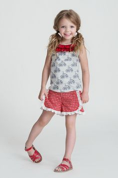 b42c8c0f6856 Hannah Top (S16) Persnickety Clothing