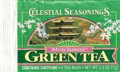Celestial Seasonings discontinued Misty Jasmine Green Tea