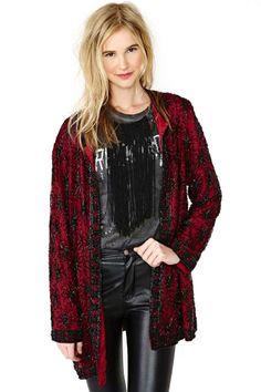 Deco Dynasty Beaded Jacket