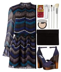 """Party On: Long Sleeve Dresses"" by aguniaaa ❤ liked on Polyvore featuring Diane Von Furstenberg, Steve Madden, Juice Beauty, Cath Kidston and longsleeve"