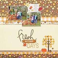 *MCS* Fres Autumn Days - Scrapbook.com