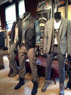 John Varvatos - amazing design from the store to the clothes themselves.