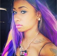 'Sisterhood of Hip Hop's' Diamond shares selfies on Instagram