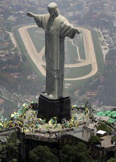 Cristo Redentor - Morro do Corcovado - Rio de Janeiro