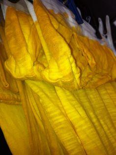 Amarelo Açafrão - Tingimento Vegetal - Artesanal